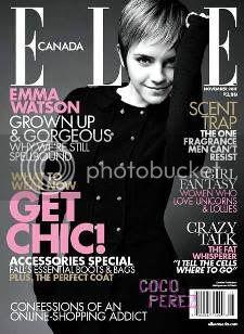 Emma Watson Elle Canada November 2011