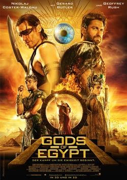 Gods of Egypt Filmplakat