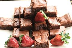 Brownies (Martha Stewart recipe) at Brunch, San Francisco