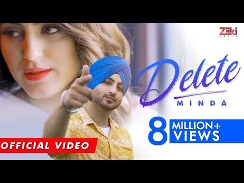 Delete Minda Punjabi Mp3 Song Lyrics
