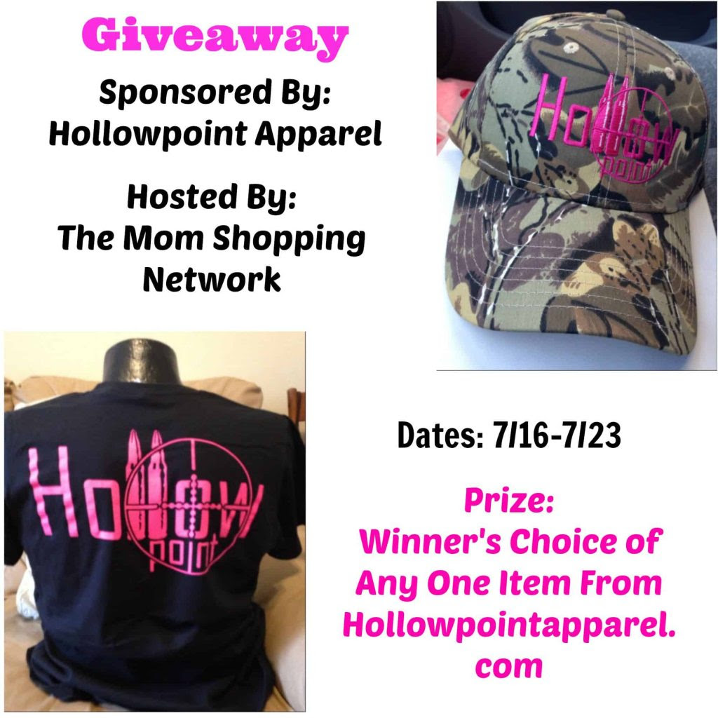 Giveaway- Hollowpoint Apparel