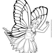 Dibujos De Barbie Mariposa Y La Princesa De Las Hadas 20