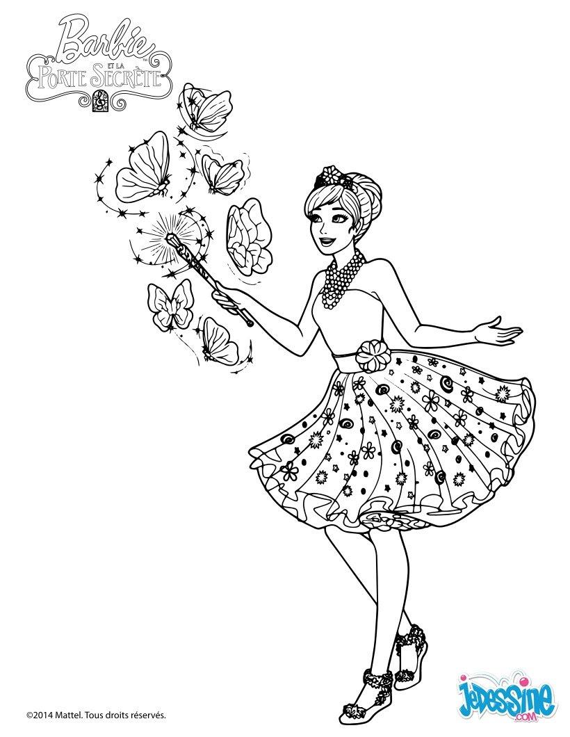 La Reine Licorne Alexa créé des papillons magiques