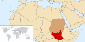 de Südsudan en Southern Sudan ru Южный Судан