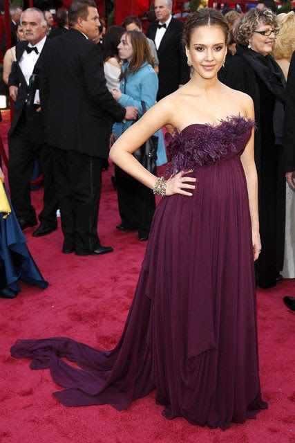 Jessica Alba - 50 Best Oscar Dresses - Marie Claire