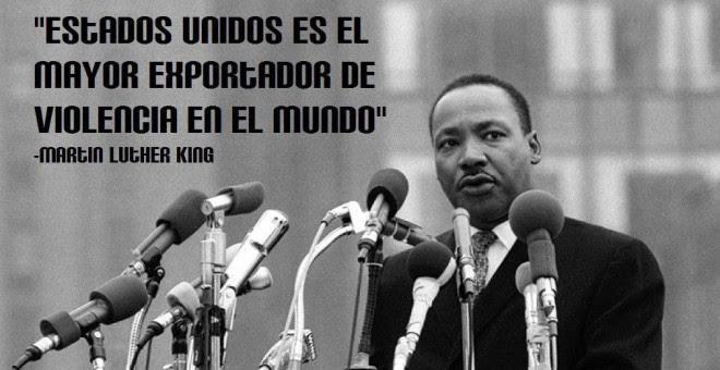 El reverendo y Premio Nobel de la Paz Martin Luther King .