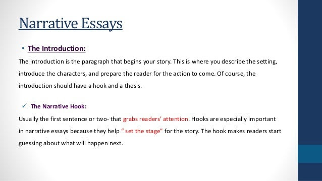 how to write a introduction to a narrative essay