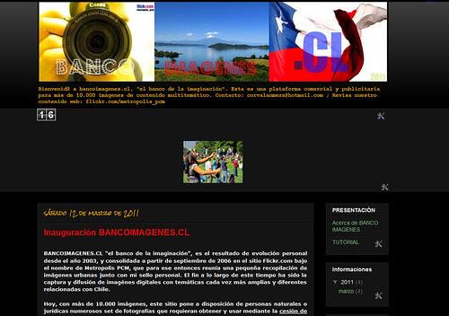 INICIO BANCOIMAGENES.CL by .:: Metropolis PCM - El Flickr de Chile. ::