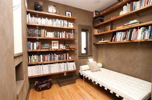 Library modern family room
