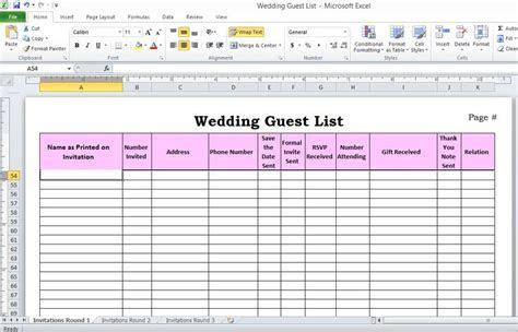 25  Best Ideas about Wedding Spreadsheet on Pinterest