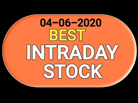 Best #intraday stock 04 June 2020 | tomorrow trading stock| stock to tra...