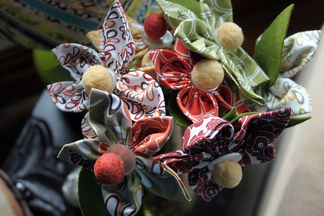 Tilly Fabric Flowers