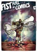 Fist Full of Comics cover by Owen Heitmann