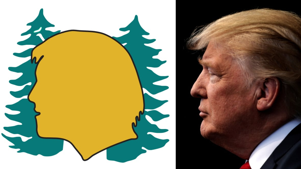 Cant Unsee Western Canadians Find Trumps Image In