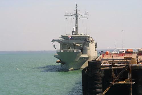 HMAS Kanimbla in Darwin