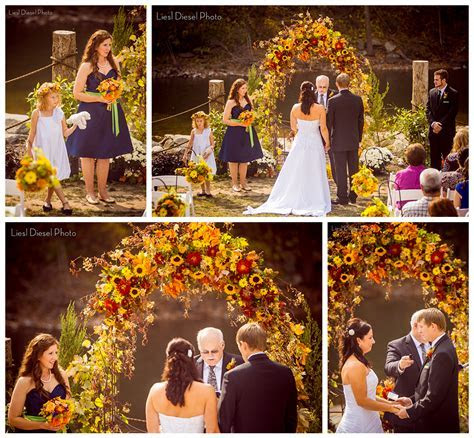 Rustic Fall Themed Outdoor Country Wedding photos by Liesl