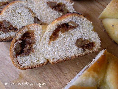 DSCN1065 - pane dolce dello Shabbat_ripieno noci e vincotto
