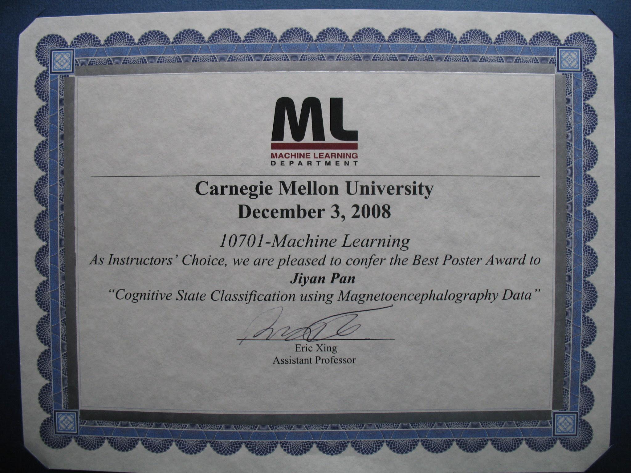 Ms In Machine Learning Carnegie Mellon University - Quantum