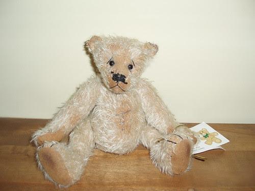 Bren's bear at Laura's