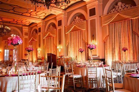 Amber Uplighting Wedding at the Fairmont Hotel MacDonald