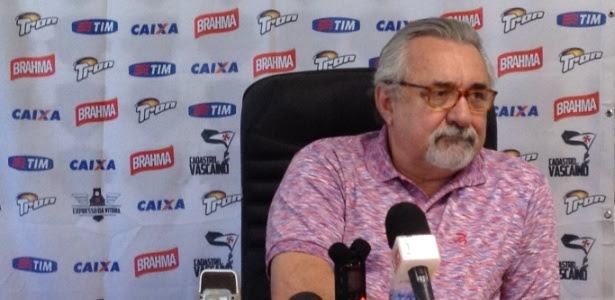 Paulo Angioni durou apenas uma temporada como gerente de futebol do Vasco
