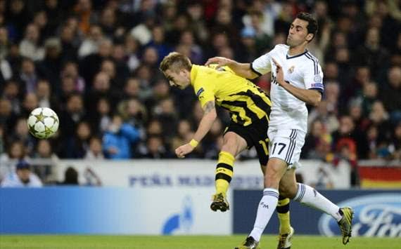 Reus marca para el Borussia Dortmund ante Real Madrid