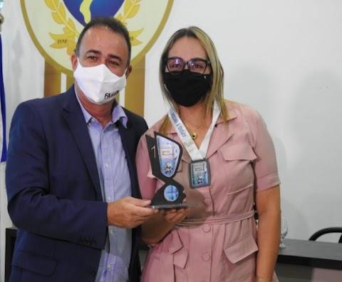 Erlanio entrega premiação a estudantes maranhenses que venceram Torneio Nacional e Internacional de Robótica