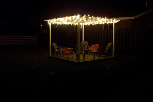 Pergola with Lights