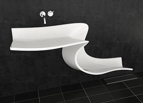 Abisko, lavabo, decoracion, diseño, baños