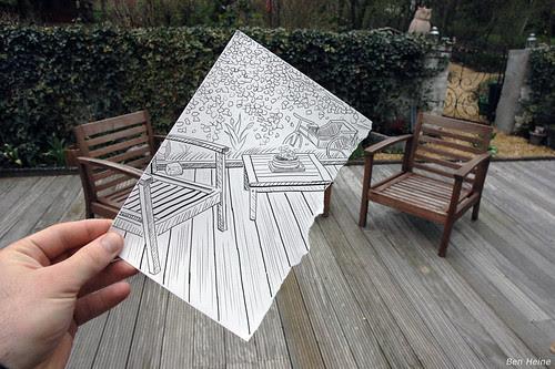 Pencil Vs Camera - 1 por Ben Heine