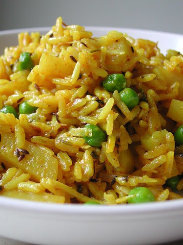 Indian Rice and Potatoes
