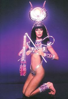 Cher as a fabulous Cleopatra | Tacky Harper's Cryptic Clues