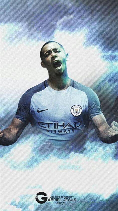 city gabriel jesus papel de parede futebol jogadores de futebol futebol