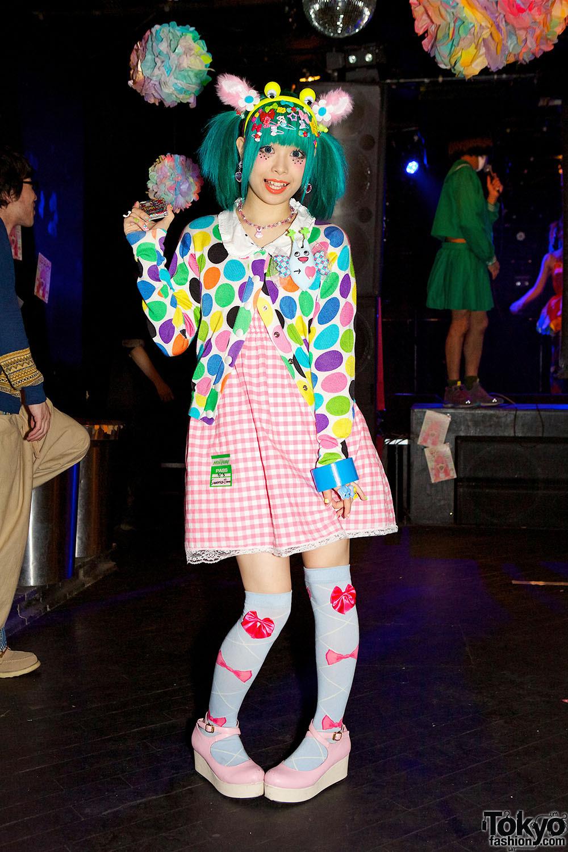 harajuku fashion snaps at pop n cute tokyo  spring 2013