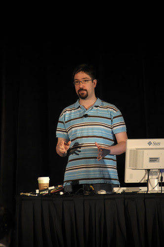 """Charles Nutter, """"The Road to Babel: Bringing JVM Machine Implementers Together, CommunityOne, Moscone Center"""