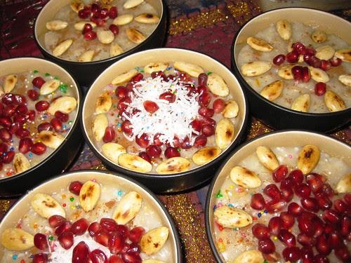 العاشوراء بالصور-طريقة عمل العاشوراء بالصور -طريقة عمل العاشوراء على الطريقة المصرية -طريقة تحضير حلوى العاشوراء المصرية