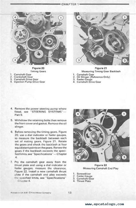 New Holland Ford 7610 Tractor Repair Manual PDF