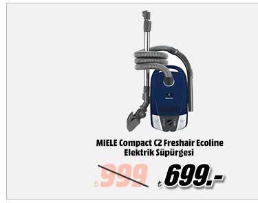 MIELE Compact C2 Freshair Ecoline Elektrik Süpürgesi Lacivert 699TL