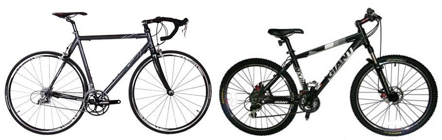 Storeyourboard Blog Road Bike Vs Mountain Bike What Are