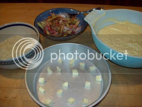Rhubarb Upside Down Cake
