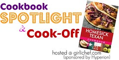 The Homesick Texan Cookbook Spotlight and Cook-Off Banner