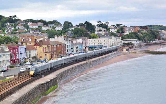 Class 802 Intercity Express Trains Will be Salt Water Proof