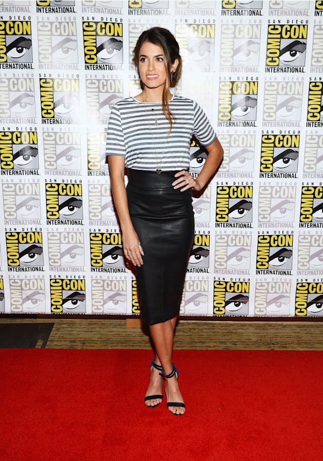 "Nikki Reed at 2012 Comic-Con ""Breaking Dawn Part 2 "" event."