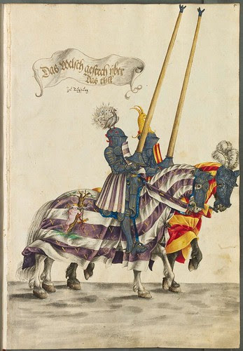 Triumphs of Maximilian manuscript sketches