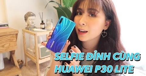 Unbox , Review Huawei P30 Lite cùng mẹ Cam Cam | Gia Đình Cam Cam Vlog 85