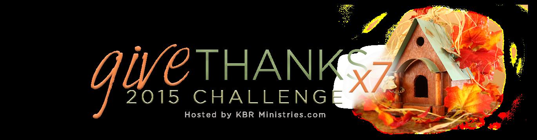 GiveThanks! x7 » 2015 Challenge