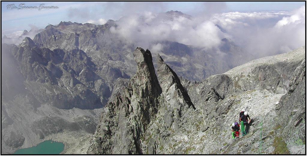 Arista NO ( Aguja Lamathe ) del Balaitus 3144 m