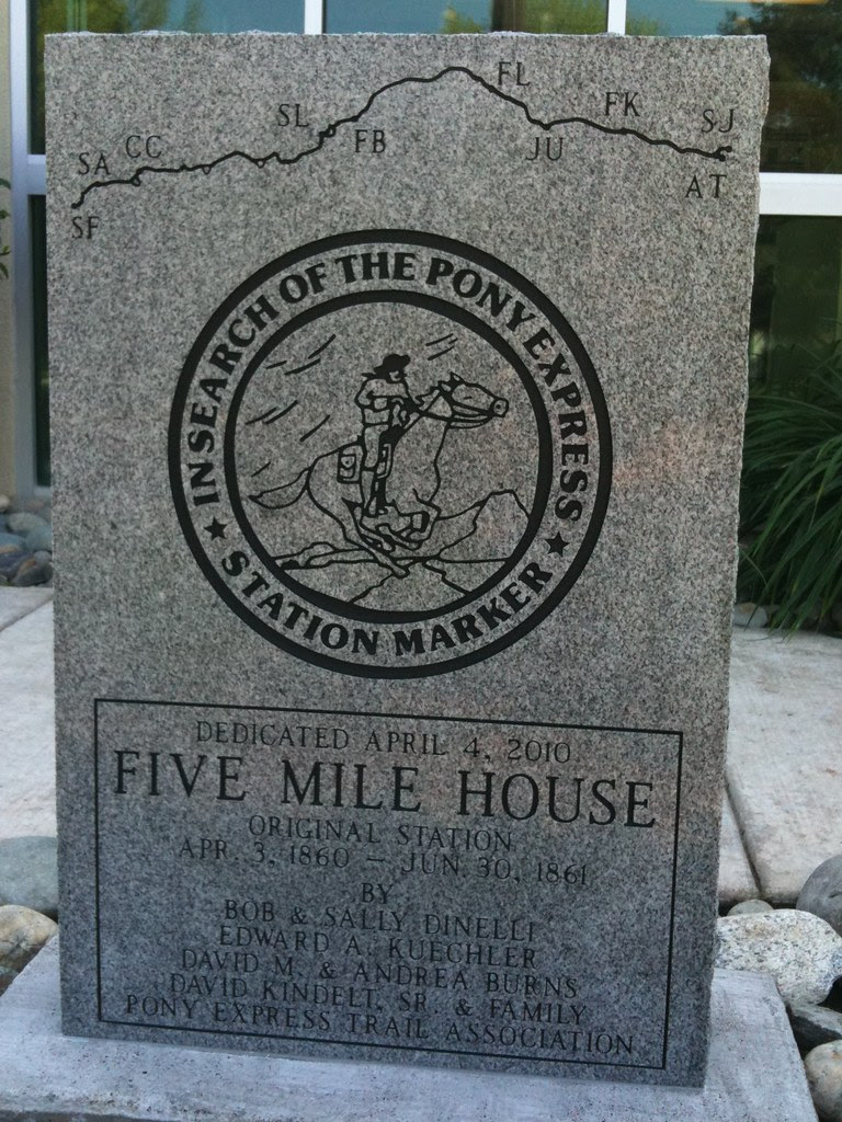 Pony Express Five Mile House