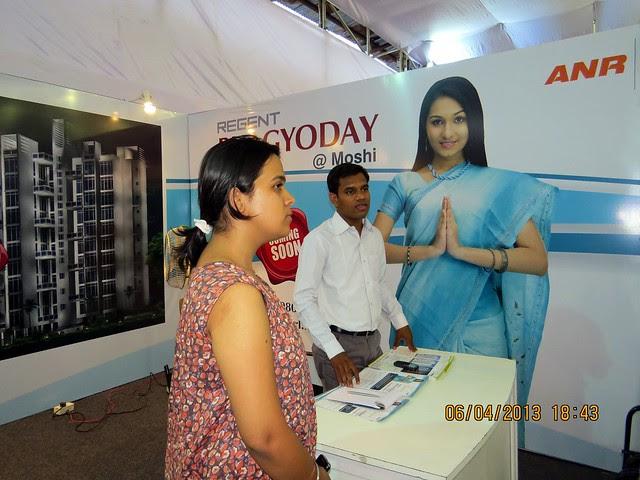 Regent Bhagyoday Moshi PCMC Pune - Maharashtra Times Pune Property Show April 2013