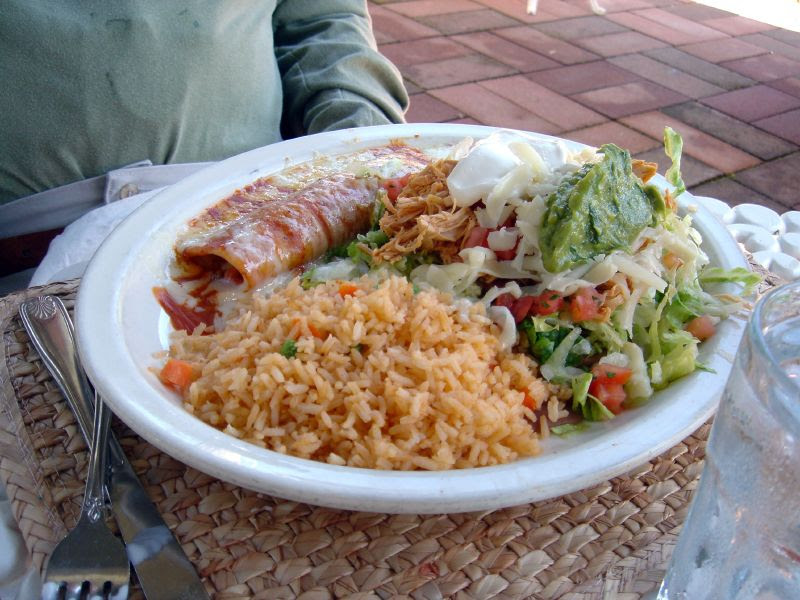 Combo: Enchilada & Tostada